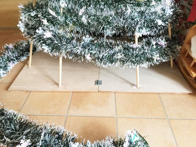 クリスマスツリーの作り方1