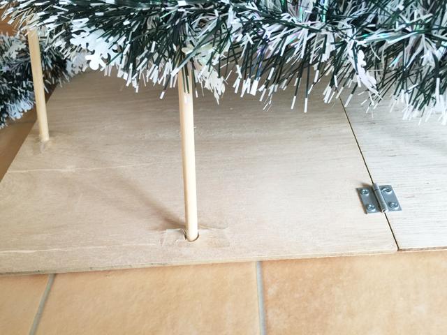クリスマスツリーの作り方2