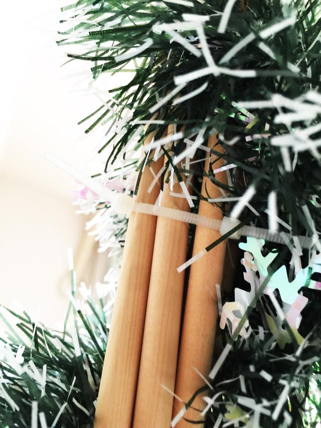 クリスマスツリーの作り方4