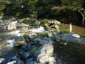 名栗川に行ってきました!
