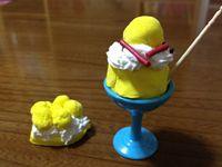 粘土でミニミニケーキ!!
