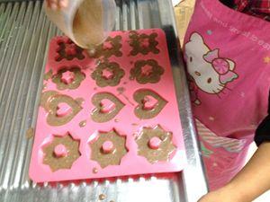 シナモンアップル焼きドーナツ