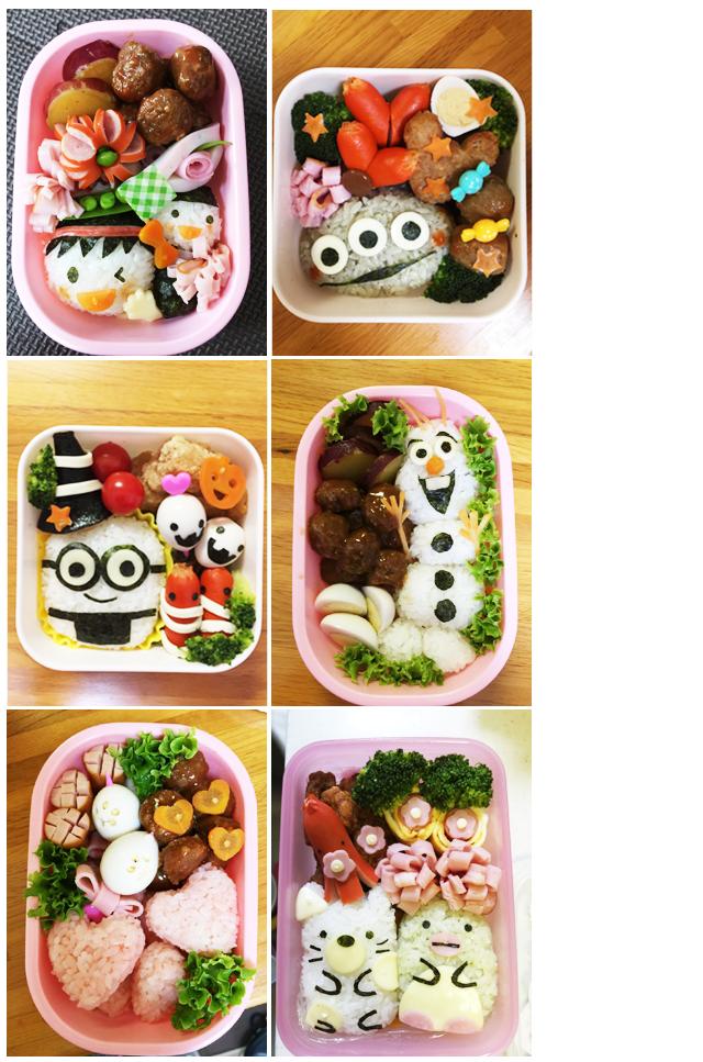 小学生のお弁当