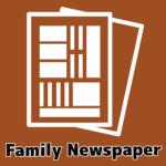 家族新聞が作れるテンプレートを無料でダウンロード!