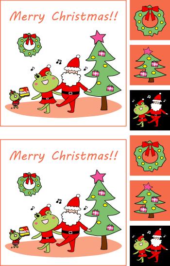 クリスマスグッズを簡単作成!!シールもカードも印刷するだけ色々使える!!2