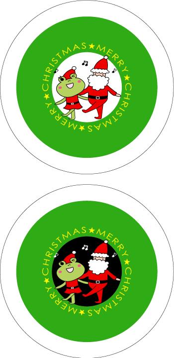 クリスマスグッズを簡単作成!!シールもカードも印刷するだけ色々使える!!7