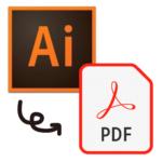 イラレ(ai)で印刷用のPDFに変換する方法