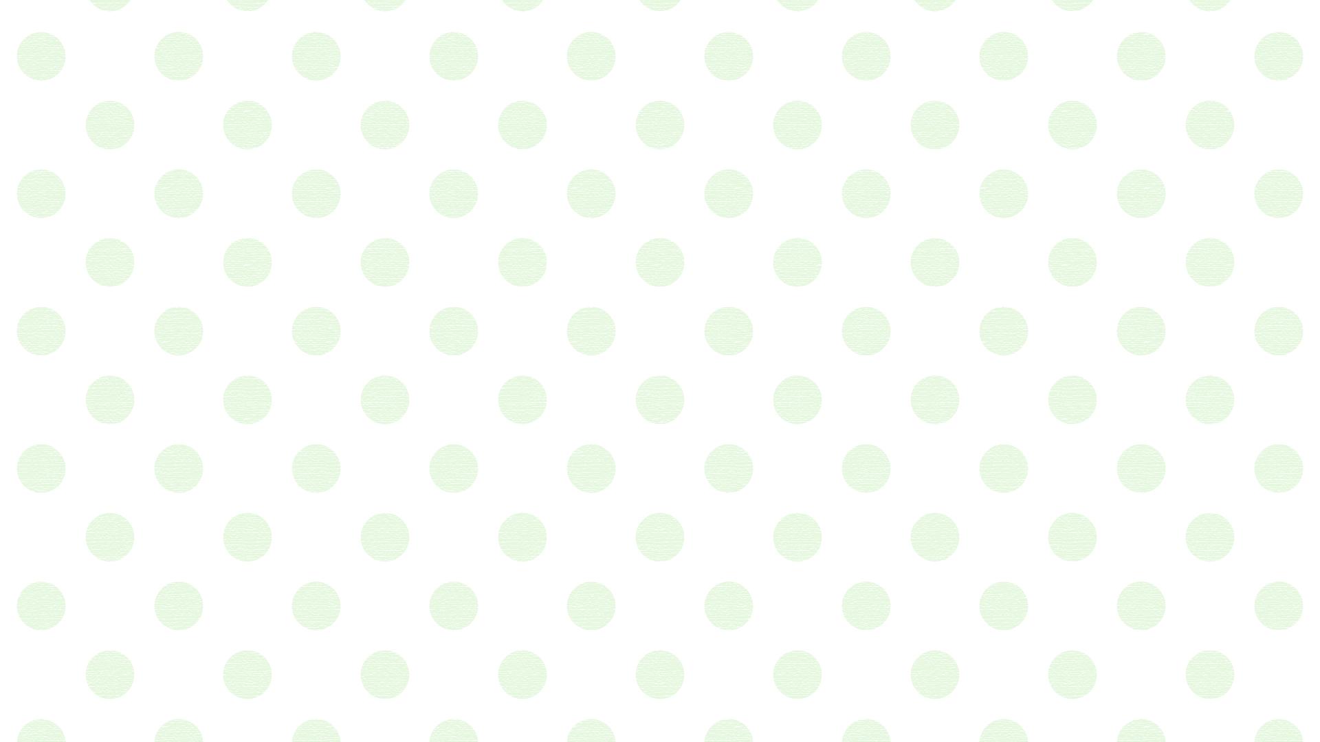 ドット模様1_green